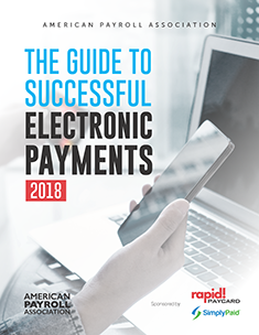 2018 Guide to Successful Electronic Payments
