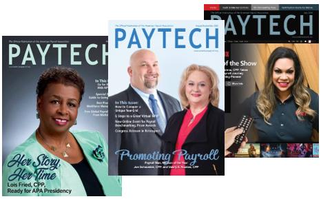 PAYTECH Magazine Covers