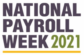 National Payroll Week commercial snippet Graphic